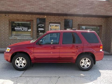 2005 Ford Escape for sale in Rosedale, IN