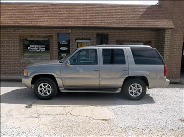 2000 Cadillac Escalade for sale in Rosedale, IN