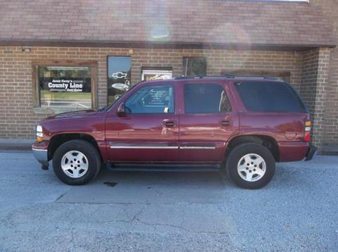 2005 Chevrolet Tahoe for sale in Rosedale, IN