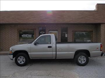 2002 Chevrolet Silverado 1500 for sale in Rosedale, IN