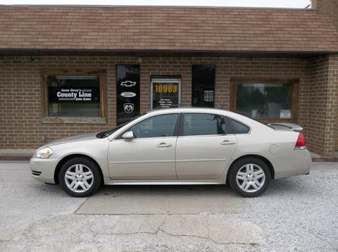 2012 Chevrolet Impala for sale in Rosedale, IN