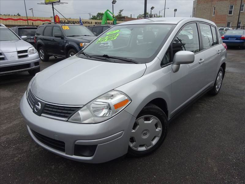 2007 nissan versa 1 8 sl 4dr hatchback 1 8l i4 cvt in chicago cicero melrose park western star. Black Bedroom Furniture Sets. Home Design Ideas