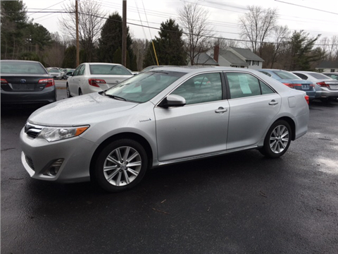 2012 Toyota Camry Hybrid for sale in Glenville, NY