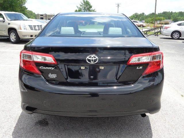 2014 Toyota Camry LE 4dr Sedan - Sumter SC