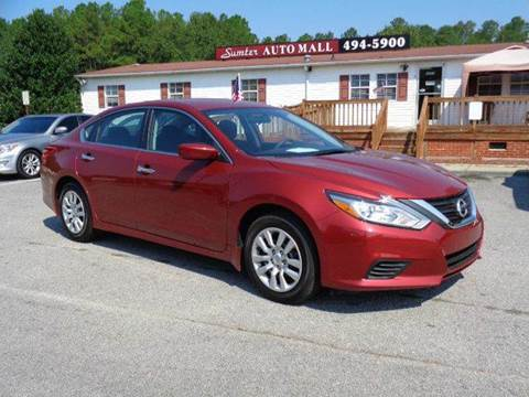 2016 Nissan Altima for sale in Sumter, SC