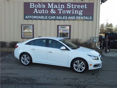 2015 Chevrolet Cruze for sale in West Bend, WI