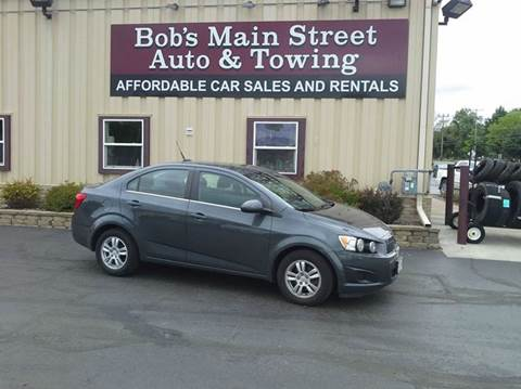 2013 Chevrolet Sonic for sale in West Bend, WI