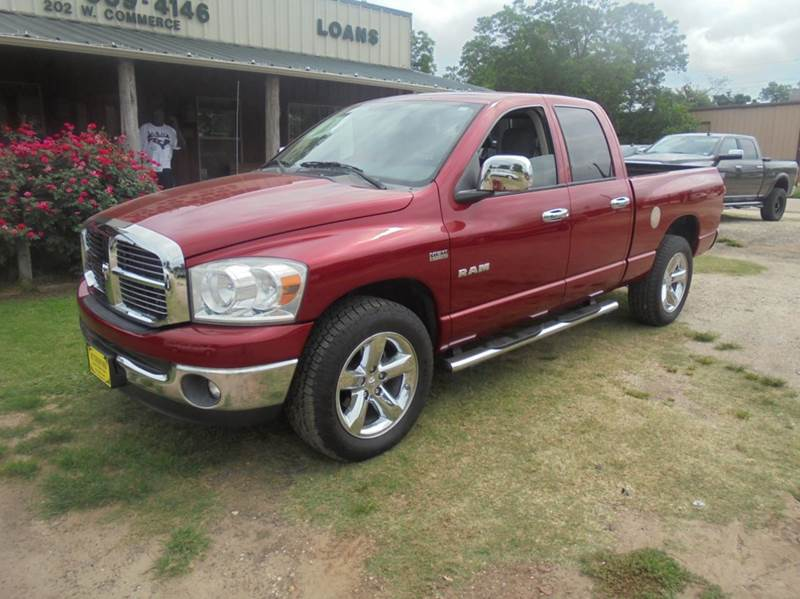 2008 Dodge Ram Pickup 1500 SLT 4dr Quad Cab LB RWD - Fairfield TX
