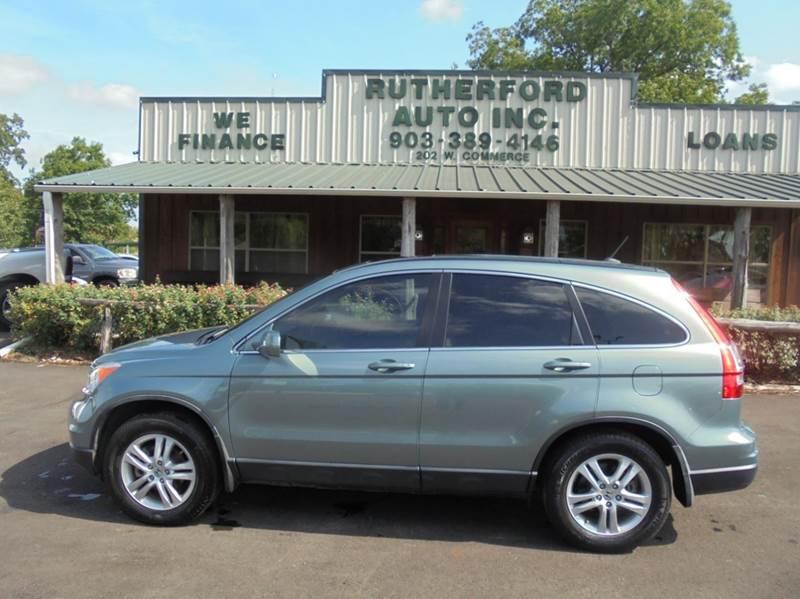Attractive 2011 Honda CR V EX L 4dr SUV W/Navi   Fairfield TX