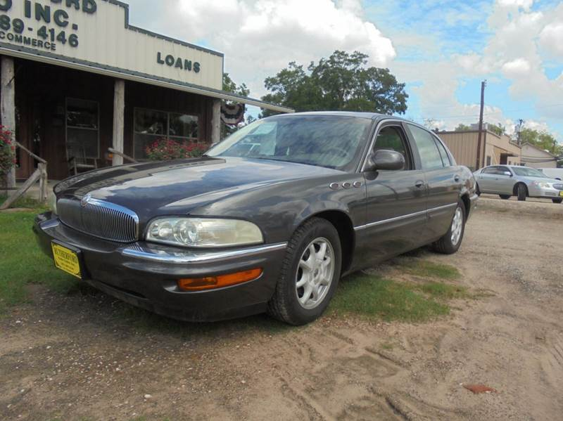 2002 buick park avenue ultra 4dr supercharged sedan in fairfield tx rutherford auto sales. Black Bedroom Furniture Sets. Home Design Ideas