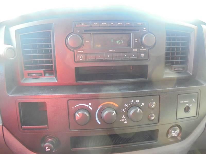 2007 Dodge Ram Pickup 1500 ST 2dr Regular Cab SB - Fairfield TX