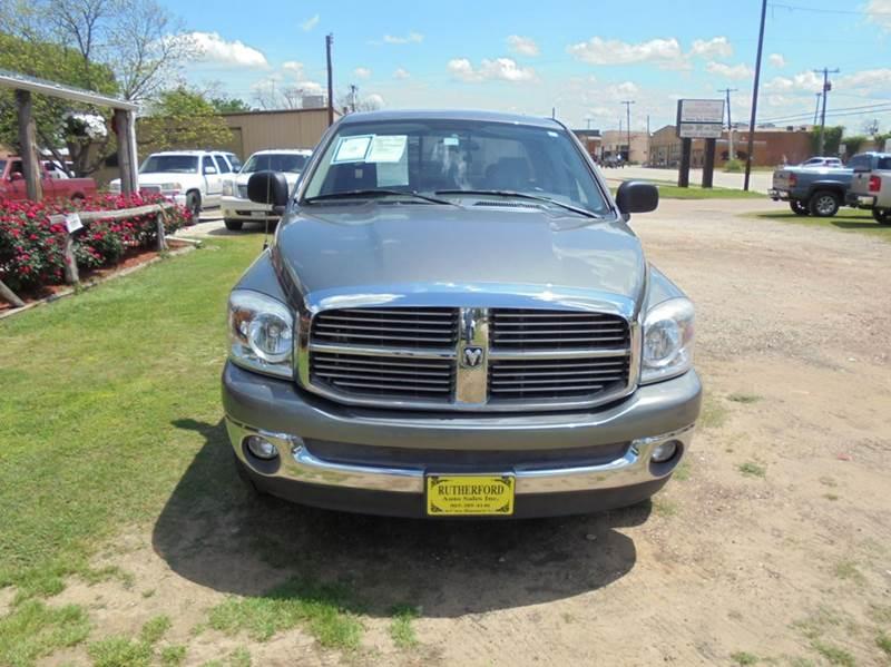 2007 Dodge Ram Pickup 1500 SLT 4dr Quad Cab SB - Fairfield TX