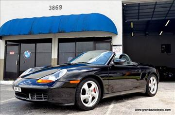 2001 Porsche Boxster for sale in Hollywood, FL