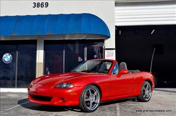2004 Mazda MAZDASPEED MX-5 for sale in Fort Lauderdale, FL