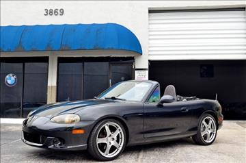 2005 Mazda MAZDASPEED MX-5 for sale in Hollywood, FL