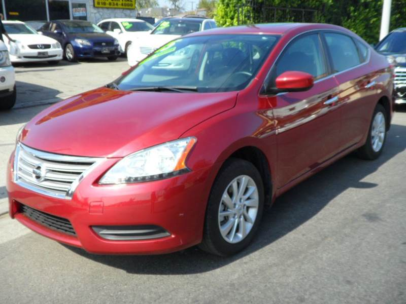 2015 nissan sentra sv 4dr sedan in arleta ca car capital. Black Bedroom Furniture Sets. Home Design Ideas