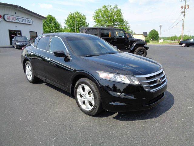 2010 HONDA ACCORD CROSSTOUR EX-L 4DR CROSSOVER black 2-stage unlocking - remote abs - 4-wheel a