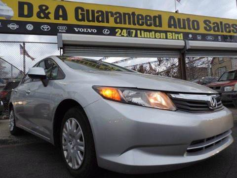 2012 Honda Civic for sale in Brooklyn, NY