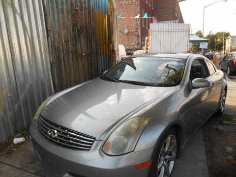 2004 Infiniti G35 for sale in Brooklyn NY