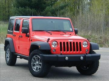 2015 Jeep Wrangler Unlimited for sale in Stillwater, MN