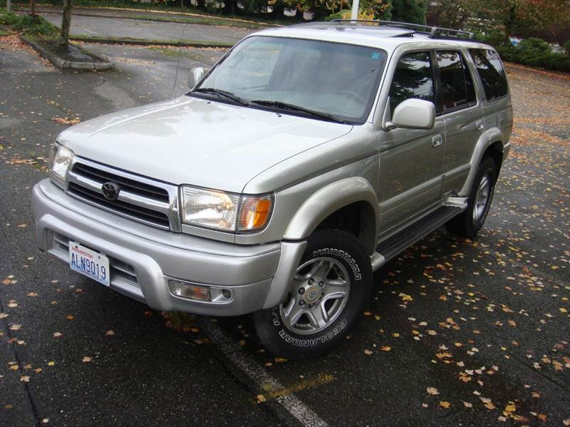 Toyota 4runner For Sale In Lynnwood Wa