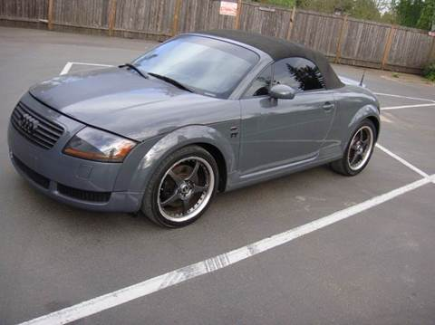 2001 Audi TT For Sale In Lynnwood, WA