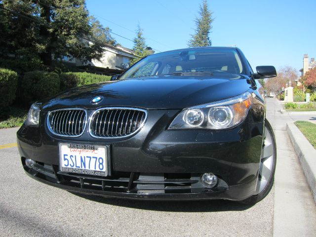 2006 BMW 5 SERIES 530I black navigation premium sport   silicon valley european has been servi