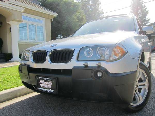 2005 BMW X3 30I silver valley european offers a great deal on a super clean 2005 bmw x3 silver wi