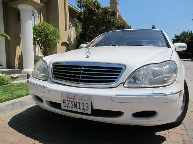 2002 MERCEDES-BENZ S-CLASS S500 white financing available 855 892 0382