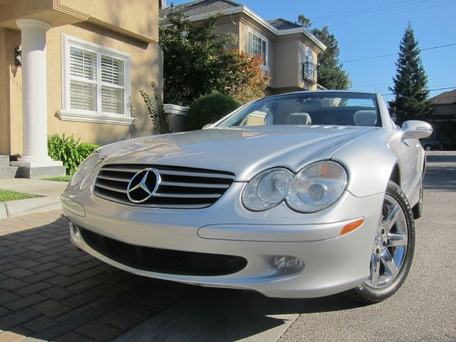 2003 MERCEDES-BENZ SL-CLASS SL500 silver abs brakesair conditioningalloy wheelsamfm radioanti