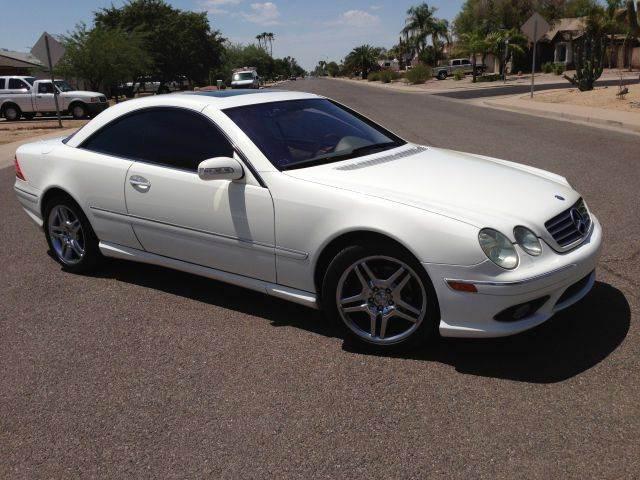 2001 Mercedes Benz Cl500 2001 Mercedes-benz Cl-class 2
