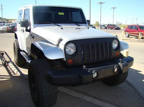 2012 Jeep Wrangler for sale in El Paso, TX