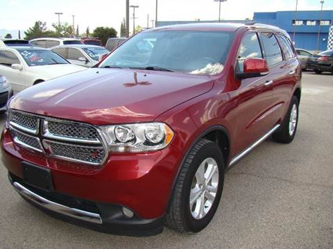 dodge durango for sale in el paso tx
