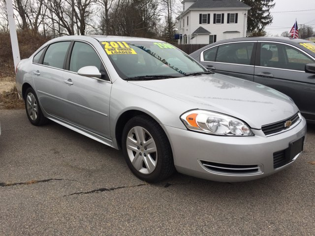 2011 Chevrolet Impala LS Fleet 4dr Sedan w/1FL - North Attleboro MA