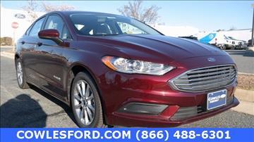 2017 Ford Fusion Hybrid for sale in Woodbridge, VA