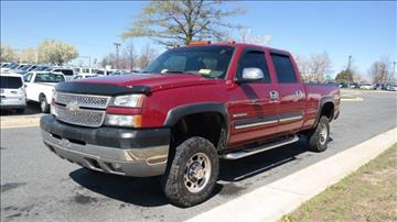 2005 Chevrolet Silverado 2500HD for sale in Woodbridge, VA