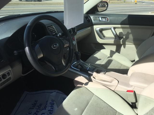 2009 Subaru Legacy AWD 2.5i Special Edition 4dr Sedan 4A - La Crosse WI