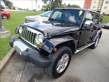 2009 Jeep Wrangler Unlimited for sale in Florence, AL