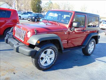 2012 Jeep Wrangler for sale in Florence, AL