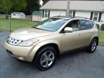 2004 Nissan Murano for sale in Florence, AL
