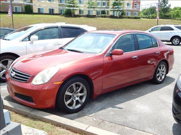 2006 Infiniti G35 for sale in Florence, AL