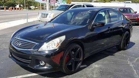 2010 Infiniti G37 Sedan for sale in Hollywood, FL