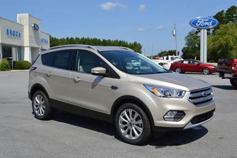 2017 Ford Escape for sale in Trenton NC