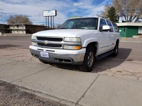 2001 Chevrolet Suburban for sale in Laramie, WY
