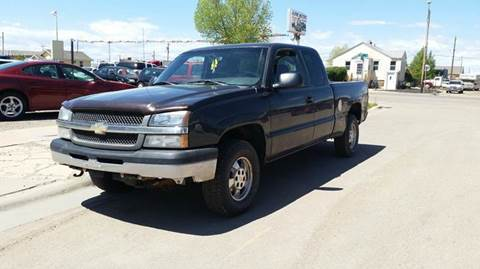 2003 Chevrolet Silverado 1500 for sale in Laramie, WY