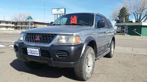 2001 Mitsubishi Montero Sport for sale in Laramie, WY