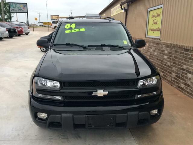 2004 Chevrolet TrailBlazer LT 4WD 4dr SUV - Blanchard OK