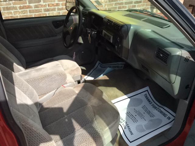1994 GMC Sonoma 2dr SLS Standard Cab SB - Blanchard OK