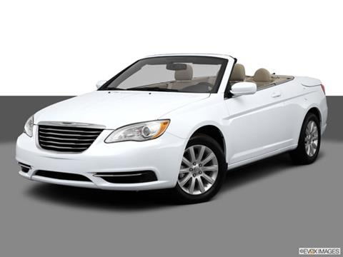 2013 Chrysler 200 Convertible for sale in Reno, NV