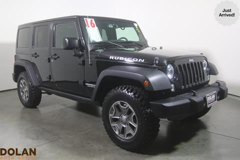 2016 Jeep Wrangler Unlimited for sale in Reno, NV